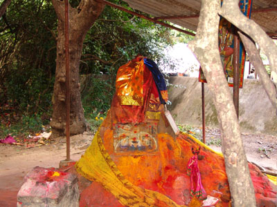 The sacred anthill at Puthupet