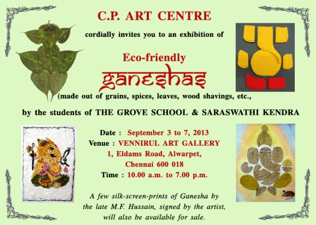 invitation for ganesha exhibition_mail