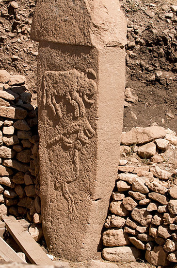 The 12,000 year old megalithic ruins of Gobekli Tepe in Turkey.