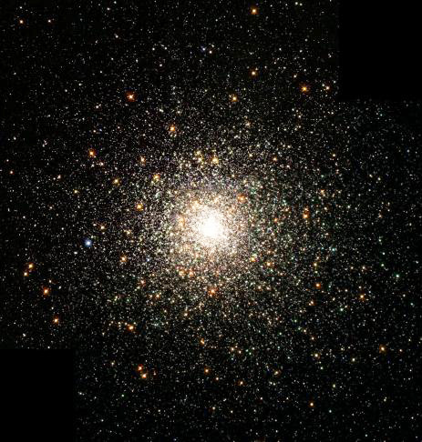 The 15 billion year old star cluster M80 (NGC 6093).