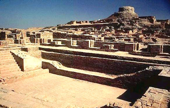 The great bath at Mohenjo Daro.