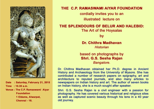 Feb 16 2015The Splendours of Belur and Halebid 01