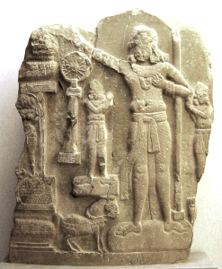 493px-Indian_relief_from_Amaravati,_Guntur._Preserved_in_Guimet_Museum