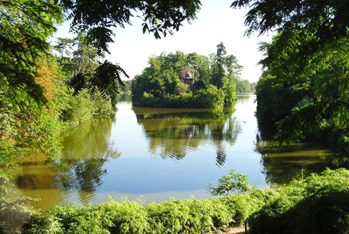 The Bois de Boulogne, just outside Paris.