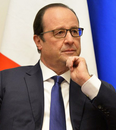 President Hollande of France