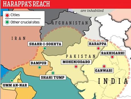 Indus Valley Civilizational Area