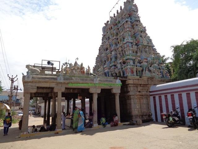 Rajagopuram of Kailasanathar temple,Rasipuram